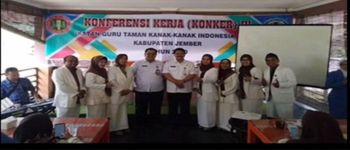 IGTKI Kabupaten Jember peduli Covid-19
