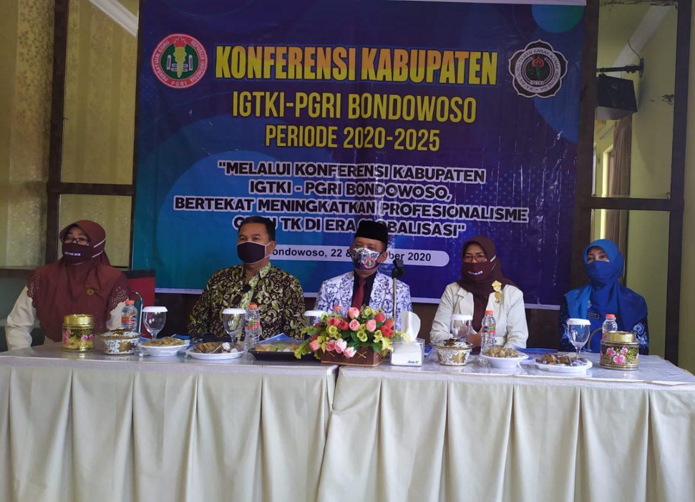 Konferensi Kabupaten IGTKI-PGRI Bondowoso