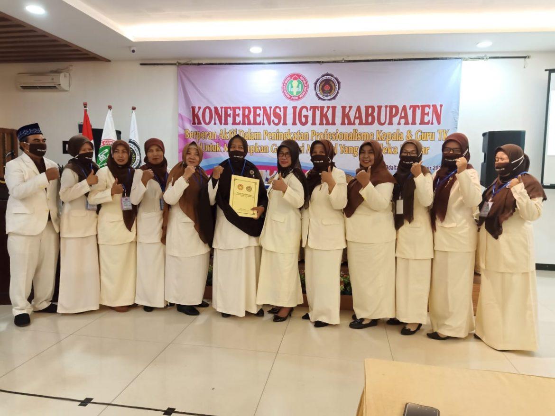 Konferensi IGTKI – Kabupaten Pamekasan