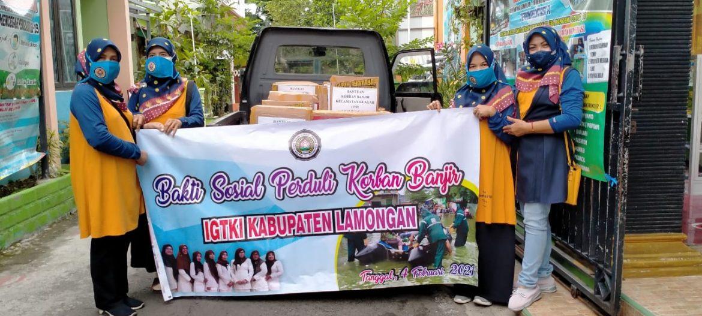 Bansos Korban Banjir Kabupaten Lamongan 2021