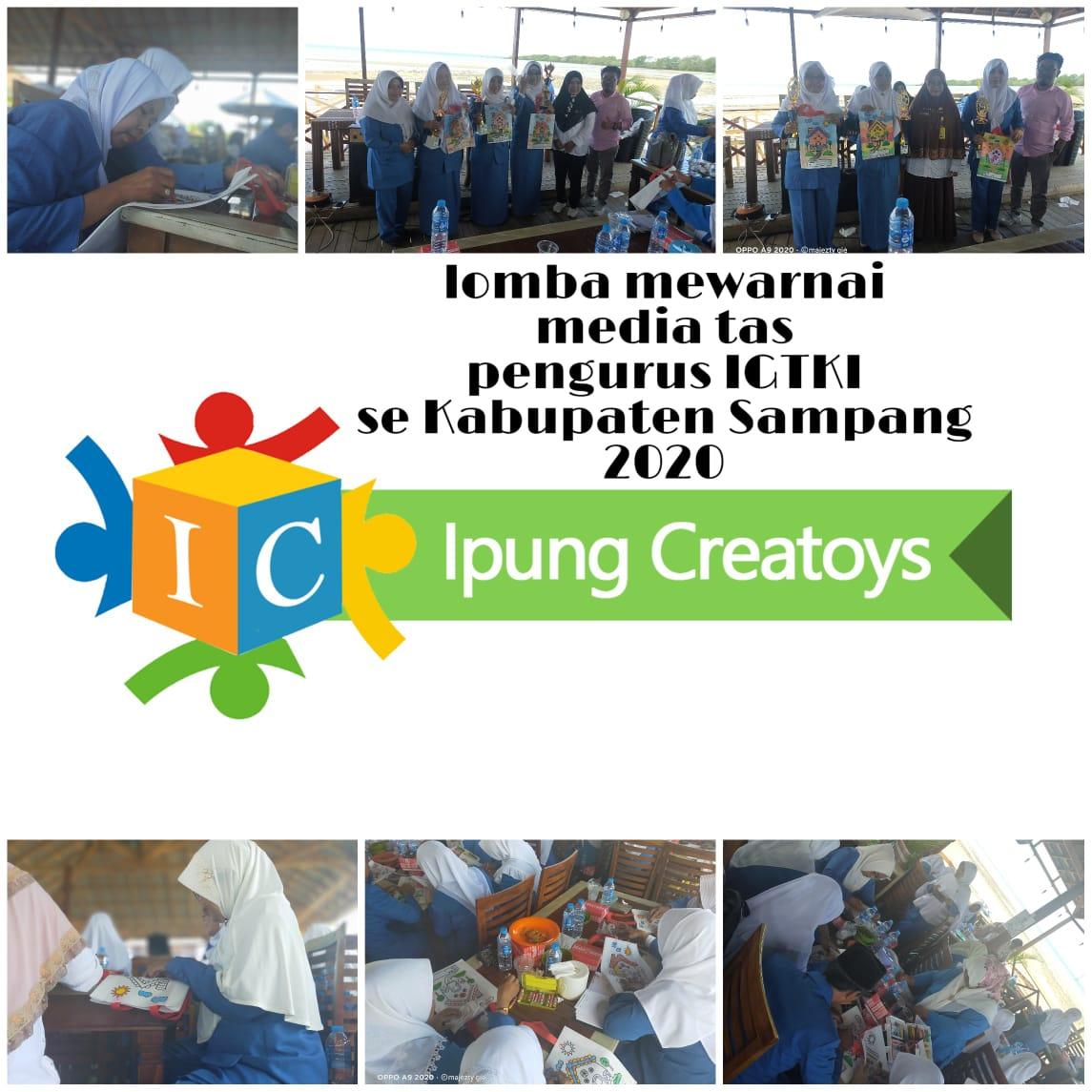 Membentuk karakter dan bakat anak lewat mewarnai oleh IGTKI-PGRI Prov. Jawa Timur
